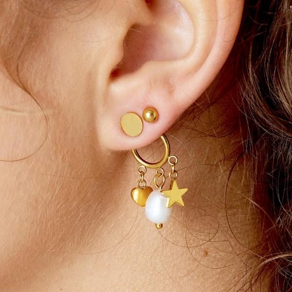 Staybright Ear Jacket Earrings