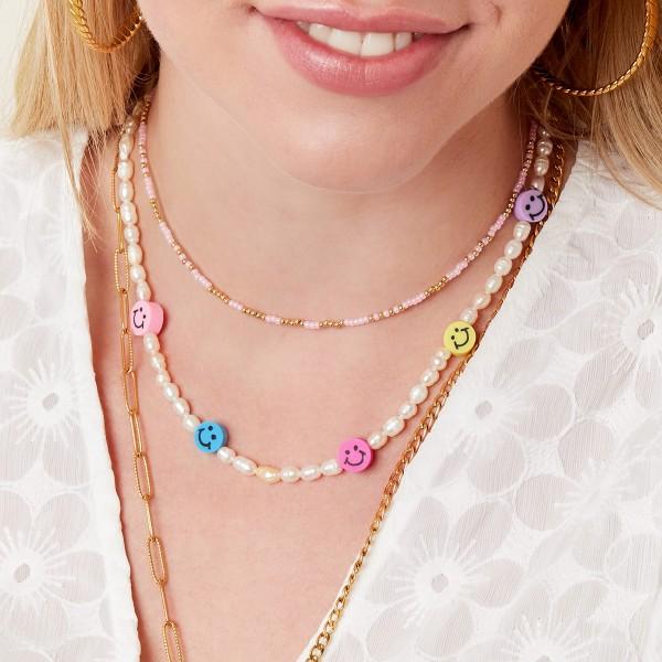 Staybright Happy Face necklace