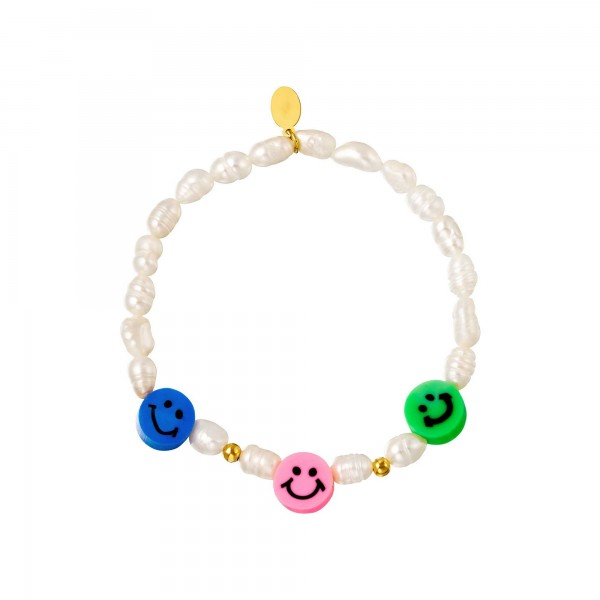 Staybright Smiley Pearls bracelet