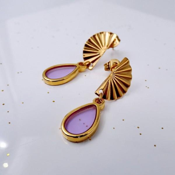 Vitraux Drop Earrings