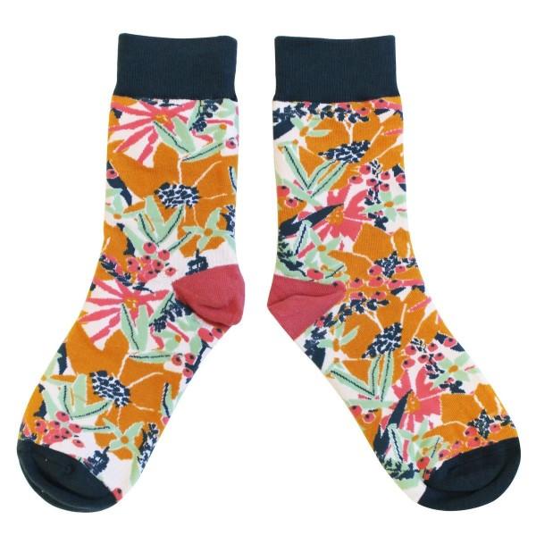 Κάλτσες Eden Mustard