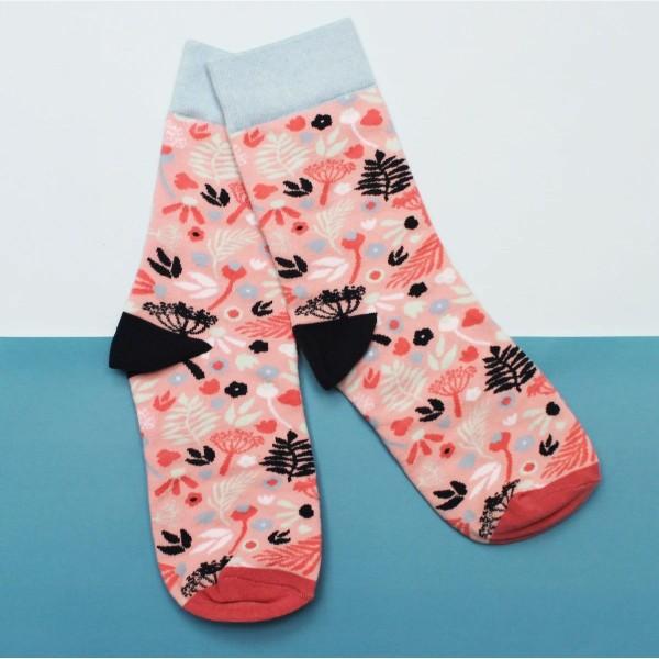 Κάλτσες Eden Pink
