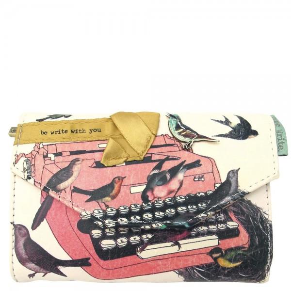Type Write Bird Wallet