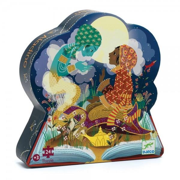 Djeco Aladin puzzle in shaped box