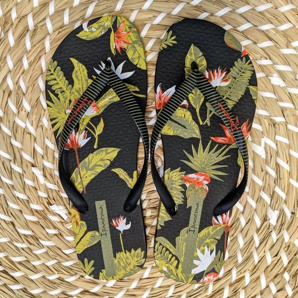Ipanema Ladies Summer Flower Flip Flops