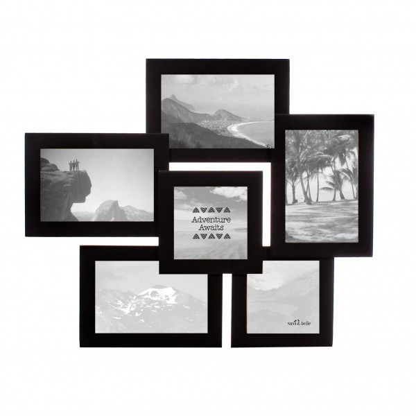 Black Six Photo Multi Frame