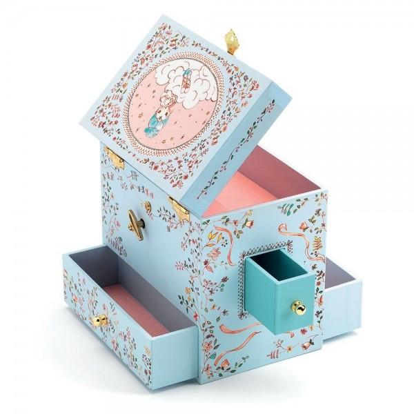"""Djeco """"Ballerina"""" Jewelry Music Box"""