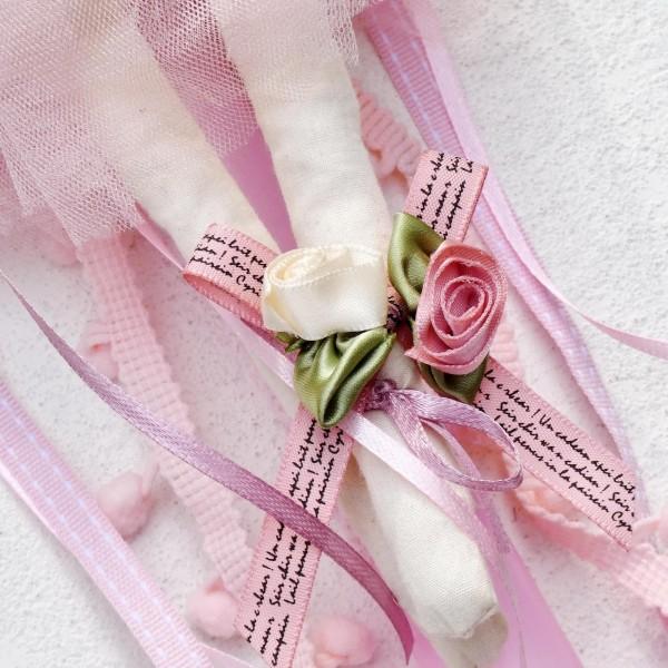 Ρομαντική λαμπάδα Flower Dolly