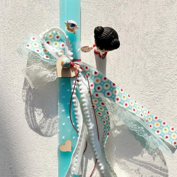 Λαμπάδα με κοριτσάκι Barbouille & Gribs από την Djeco