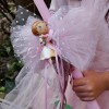 """Easter Candle """"DJECO princess Blanca in the enchanted forest"""""""