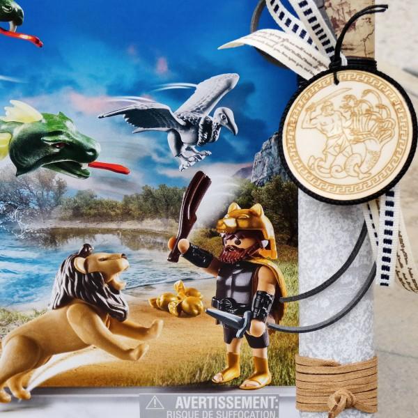 Λαμπάδα Playmobil Οι άθλοι του Ηρακλή