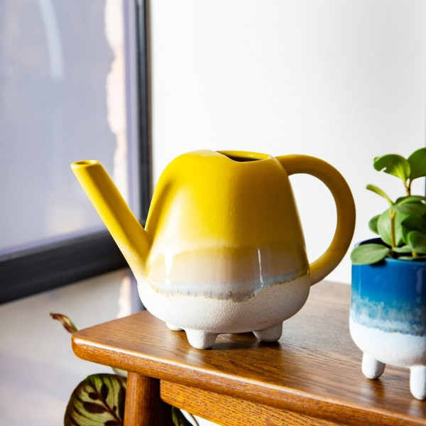 Mojave Glaze yellow Mini Watering Can