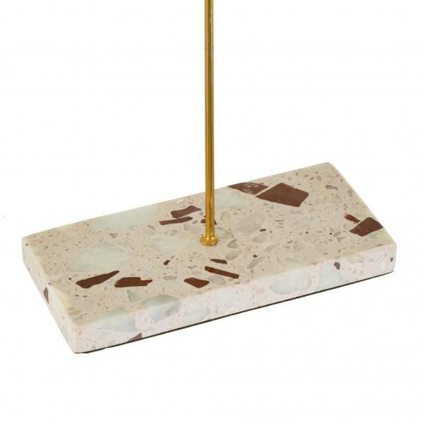 Triple Terazzo Gold Stand