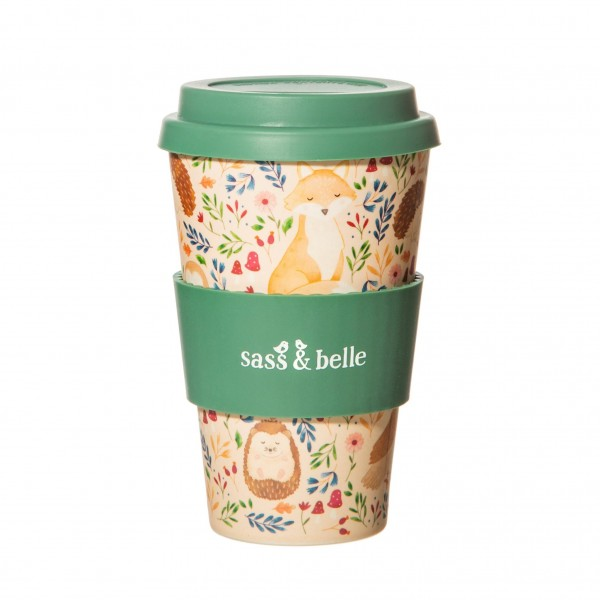 Forest Folk Bamboo Coffee Cup