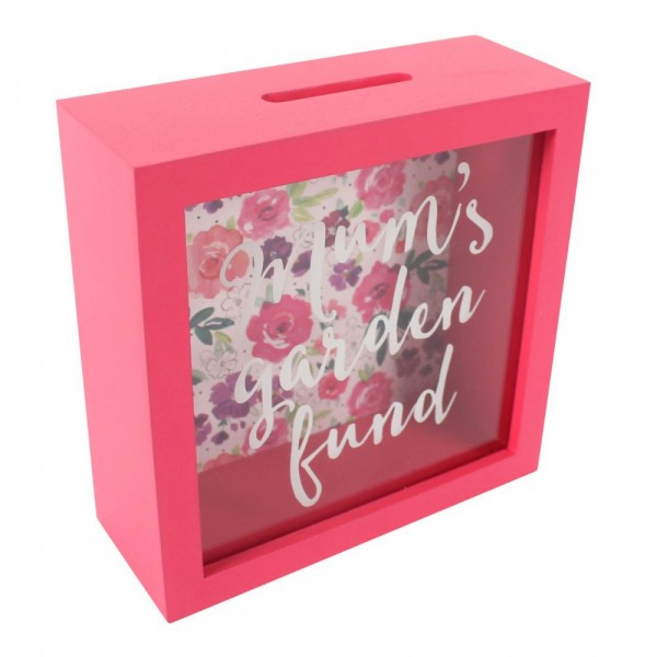 Mum's Garden Fund Money Box