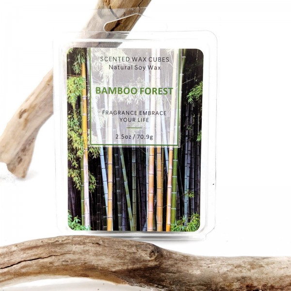 Bamboo forest Eco Soy Wax Cubes