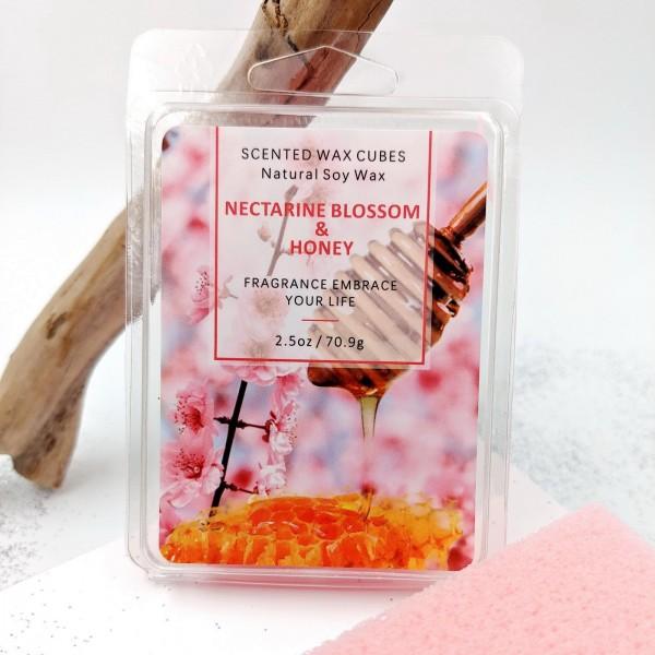 Nectarine Blossom and Honey Eco Soy Wax Cubes