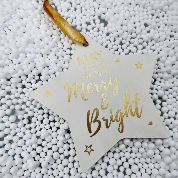 Στολίδι Merry & Bright