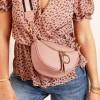 Shoulder Stripe Black Mini Bag