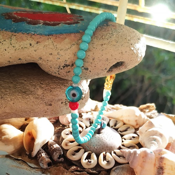 Happy Summer Kid's Anklet