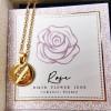 Κολιέ Birth Flower - Rose for June