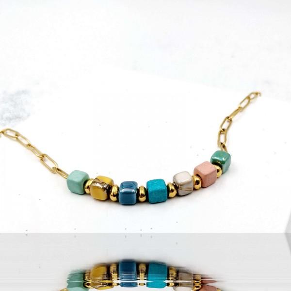 Ceramic Cubelo Necklace