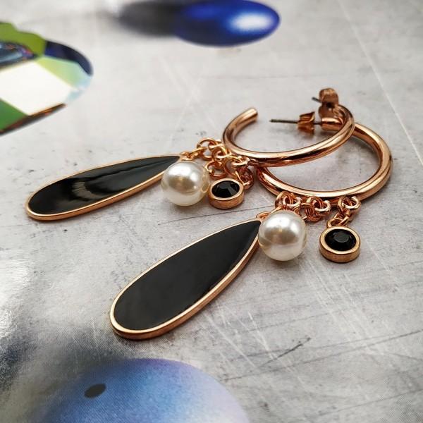 Ada Pearls Hoops Earrings