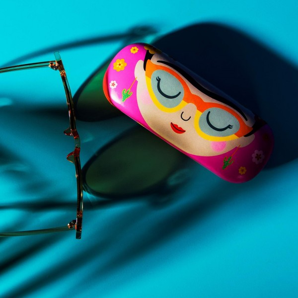 Viva la Frida Glasses Case