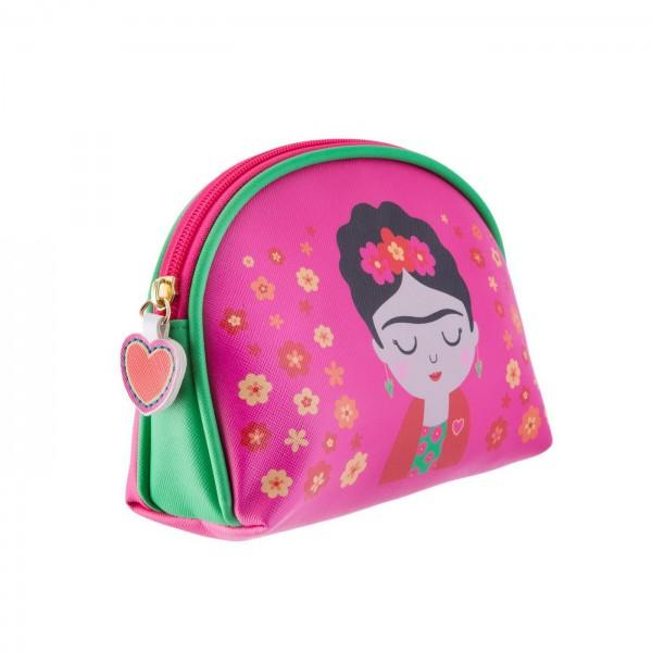 Frida Kahlo cosmetic bag