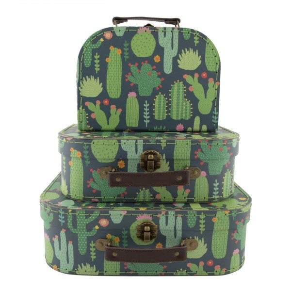Colourful Cactus Suitcases (sold separately)