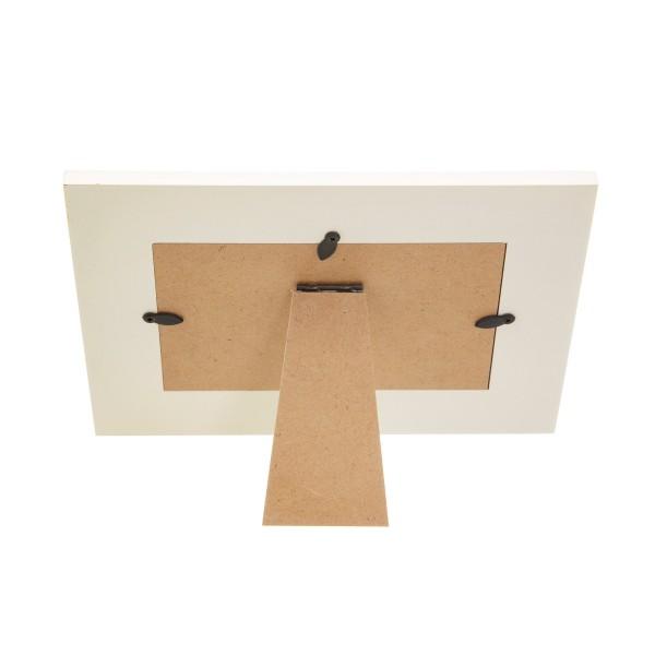 White Tassel Photo Frame