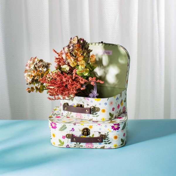 Pressed Flowers Suitcases - Set of 2 (sold separately)