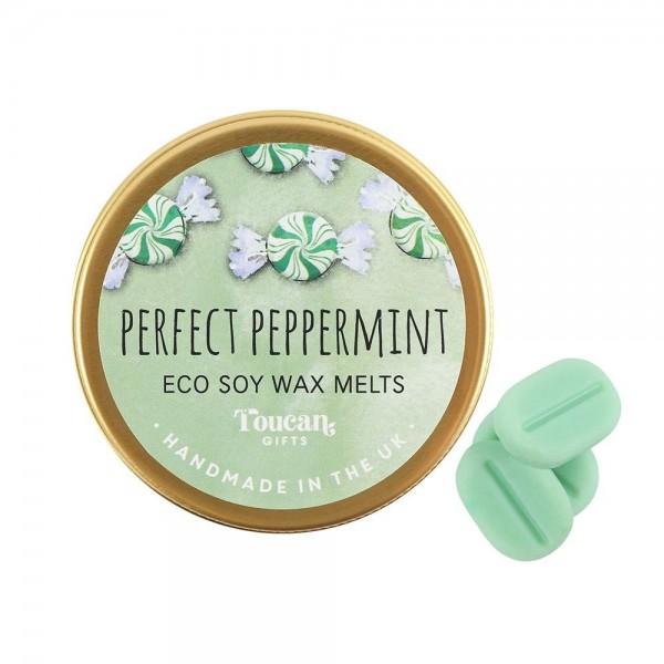 Οικολογικό Κερί Σόγιας Perfect Peppermint