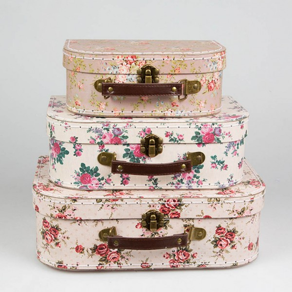 Vintage Rose Suitcases (sold separately)