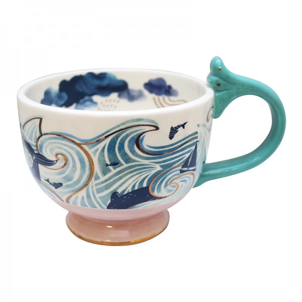 By The Sea Storm Tea Cup