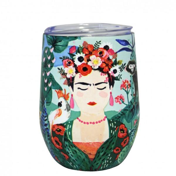 Ανοξείδωτη Κούπα Frida Kahlo
