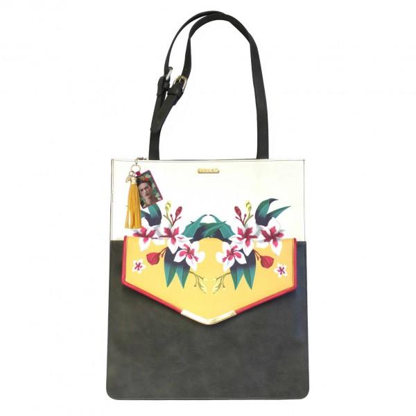 Frida Kahlo Tote & Clutch 2 in 1 Bag