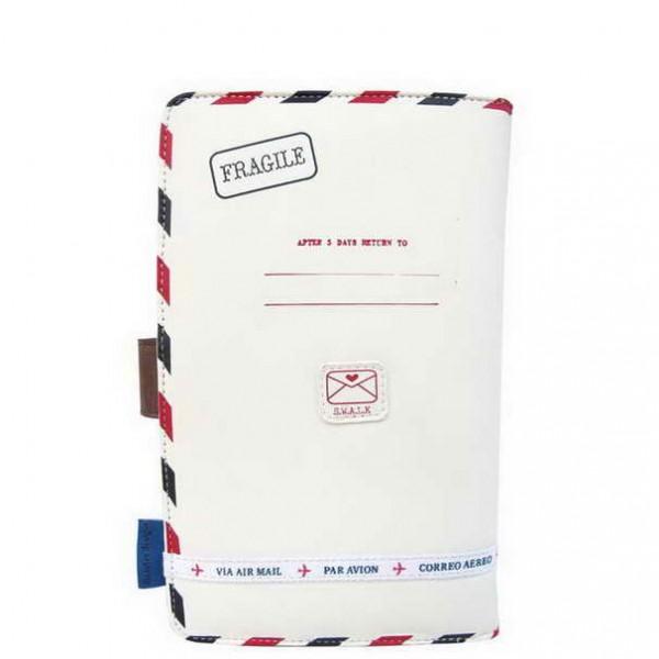 Πορτοφόλι Ταξιδιού Paper Plane Cream Disaster Designs