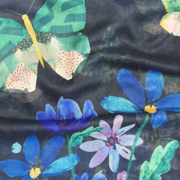 Φουλάρι Papillon Blue
