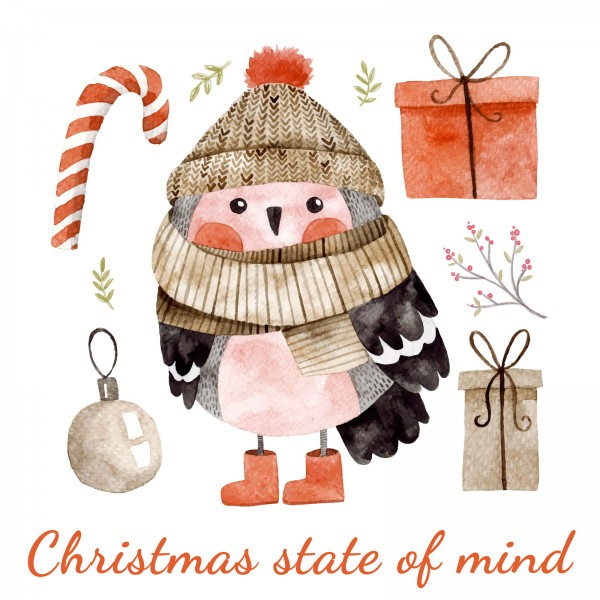 """""""Christmas state of mind"""" E-gift card"""