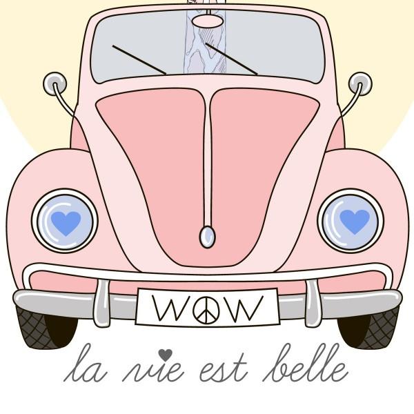 """""""La Vie Est Belle"""" E-gift card"""
