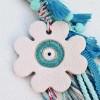 Γούρι Ceramic Enamel Flower
