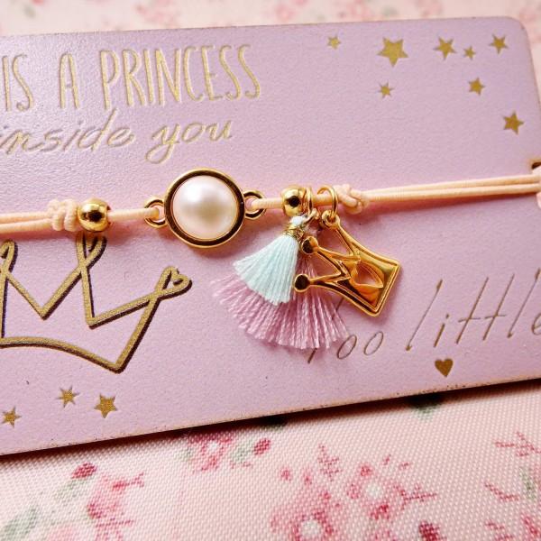 """""""The Princess in You"""" Kid's Bracelet"""