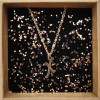 """What's your Name- Stainless Steel Initial """"Χ"""" Necklace"""