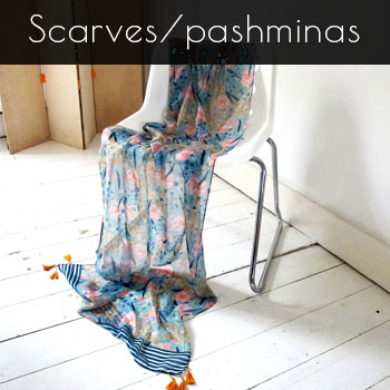 Scarves and pashminas